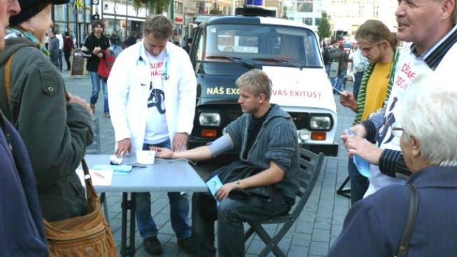 Přesnou sumu odmítá sdělit i šéf České lékařské komory Milan Kubek, Foto: LOK