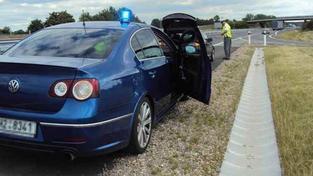 Polisejní passaty budou moci jezdit prakticky nonstop, Foto: PČR