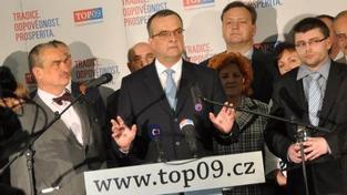 Na všechny politické kampaně vydala TOP 09 minulý rok dohromady 107 milionů, Foto:TOP09