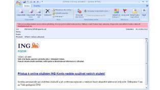 Většina kvalitních emailů a aplikací útok zachytí jako spam, Foto: NašePeníze.cz