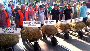 Stávka v dopravě zastavila na 24 hodin osobní i nákladní vlaky v Česku, Foto:ČMKOS