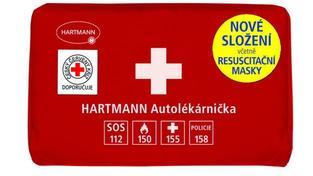 Povinný obsah lékárniček bude snížen pouze o dvě položky z 12, respektive z 8 položek u moto lékárniček, Foto: Hartmann