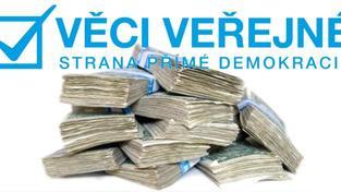 Strana Věci veřejné požádaly soud o zamítnutí tisícikorunového insolvenčního návrhu