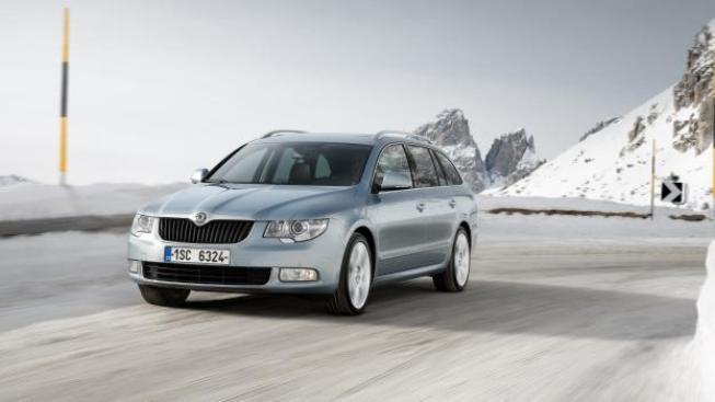 Automobily značky Škoda nakoupil také úřad ukrajinského prezidenta Viktora Janukovyče a ukrajinská vláda, Foto: Škoda auto