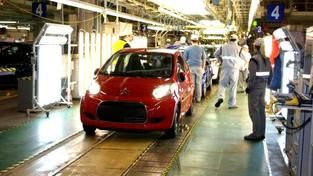 Ve firmách sdružených v SAP bylo k 30. červnu 2011 zaměstnáno celkem 110 242 lidí, z toho 82 886 lidí v dělnických kategoriích Foto:TPCA