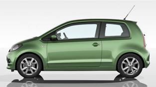 Citigo nabízí místa pro čtyři pasažéry a bude z počátku ve třídveřové verzi, Foto: Škoda Auto