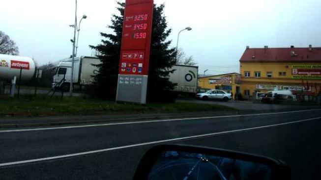 Nejlevnější benzin je i nadále k dostání v Jihočeském kraji , Foto:NašePeníze.cz