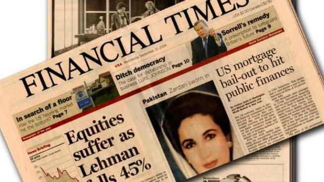 Financial Times si všímá Česka jako země, kde Nečasův vládní kabinet hlásá právě boj s korupcí jako jednu ze svých hlavních priorit, ale bez efektu, Foto:SXC