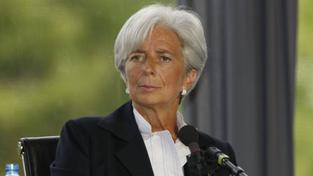 Lagardová byla nucena snížit předpovědi MMF ohledně globálního hospodářského růstu na příští rok a vyvíjí tlak na země mimo eurozónu Foto: MEDEF/wiki media