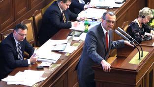 Podle říjnové prognózy ministerstva financí přitom měla letos česká ekonomika růst o jedno procento, Foto:vláda