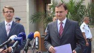 Nečas: Česko na rozdíl od jiných zemí nemusí snižovat starobní důchody a zřejmě se vyhne i jejich zmrazení v příštích třech letech. Foto:ODS