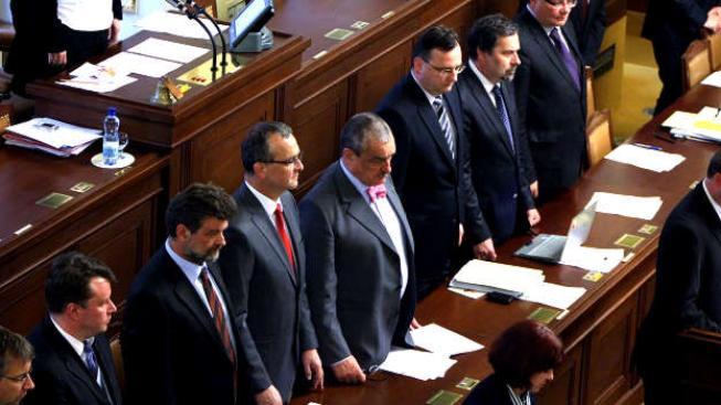 Za dobu vlády premiéra Nečase se také vynořilo několik korupčních afér., Foto:vlada.cz