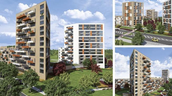 Nová garsonka je v Praze k mání už pod milionem korun. Ani větší byty však nejsou o moc dražší. Foto: Central Group