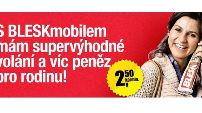 Snížení cen volání o polovinu, které BleskMobil avizuje, proto není ani žádnou cenovou revolucí, ale jen celoevropským standardem, Foto:Blesk