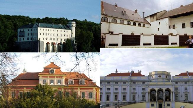 Schwarzenberg vs. Zeman: Oba mají své zámečky. VELKÉ SROVNÁNÍ majetku, Foto: TV NOVA, text: MED