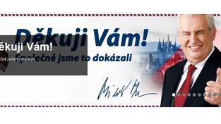 Dalším sporným bodem Zemanova účtu jsou vklady v hotovosti, celkově přesahují jeden a půl milionu, a často se jedná o velmi vysoké částky, Foto: zemannahrad.cz, text:MED