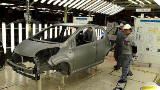 Statistiky opět potvrdily, že klíčovou oblastí tuzemského automobilového průmyslu je vývoz. Foto:TPCA