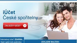 Online bankovní účet u České spořitelny už lze založit přes internet. Foto:NašePeníze.cz