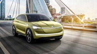 Škoda Auto představila elektromobil Škoda Vision E