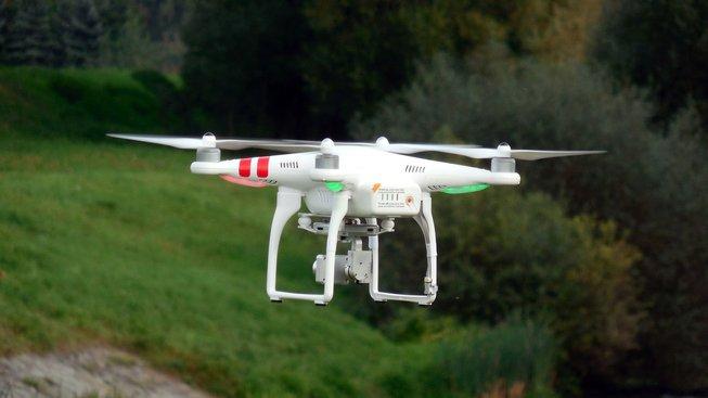 Ilustrační foto: Dron