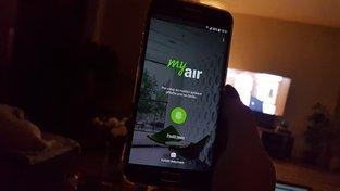 Ilustrační foto: Mobilní bankovnictví Air Bank