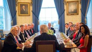 Donald trump v Bílém domě