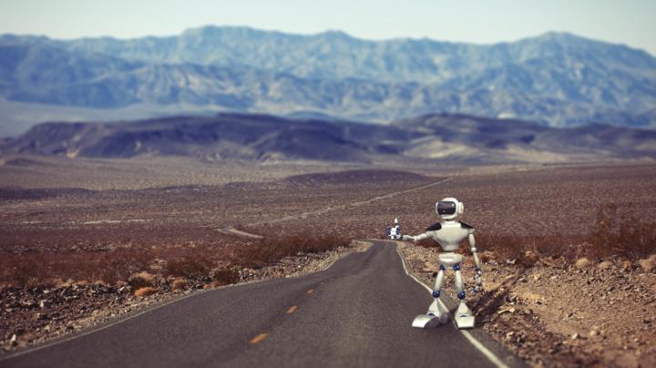 Kanadský robot se chystá na cestu stopem