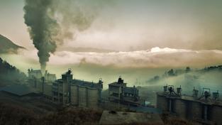 Továrna v čínském Čchung-čchingu