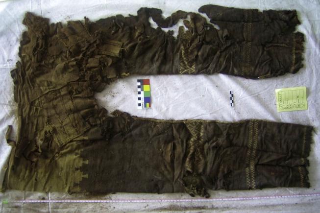 Kalhoty z pohřebiště Janghaj