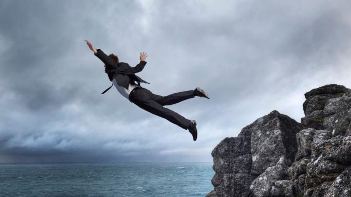 Chuť skočit není jen doménou sebevrahů