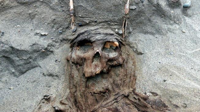 Suché prostředí mumie perfektně zakonzervovalo