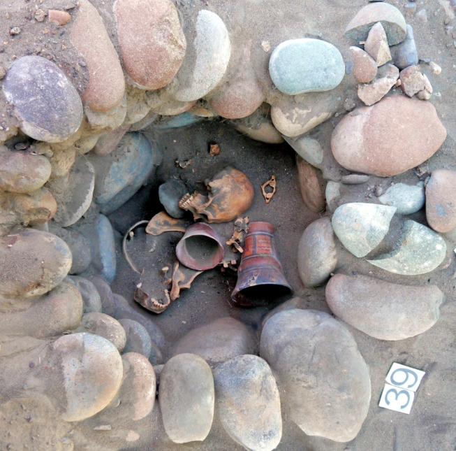 Archeologické naleziště v Atacamě