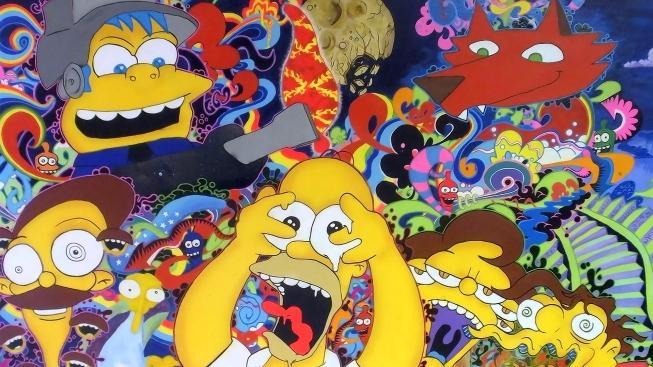 Homer Simpson na chilli tripu
