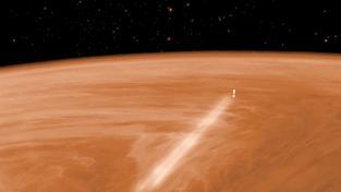 Venus Express brzdila v atmosféře celý měsíc