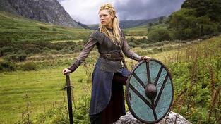 Štítonošky podobné Lagerthě ze seriálu Vikings nemusely být vůbec fikcí