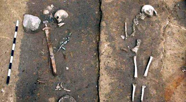 Vikinský hrob v Polsku