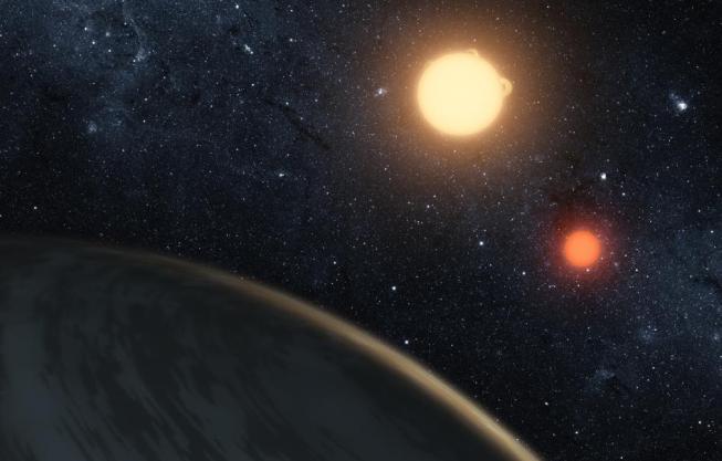 Planeta u dvojhvězdy