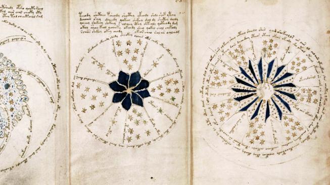 Astronomické nákresy, nebo jen náhodné shluky symbolů?
