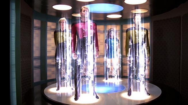 Teleportace ve Star Treku