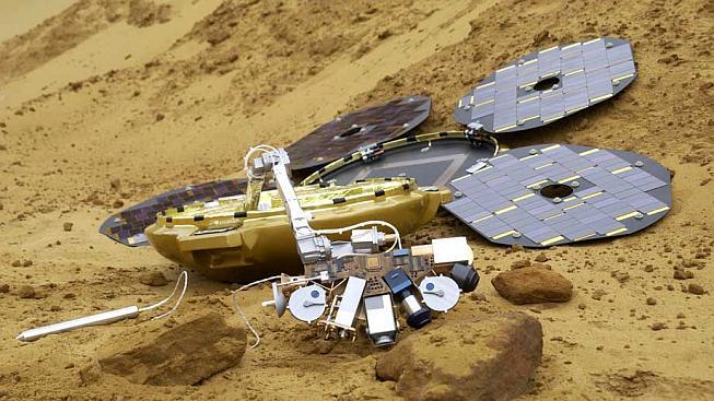 Takhle měla sonda vypadat po úspěšném rozložení solárních panelů