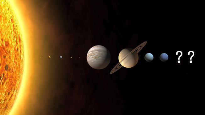 Merkur, Venuše, Země, Mars, Jupiter, Saturn, Uran, Neptun... a dál?