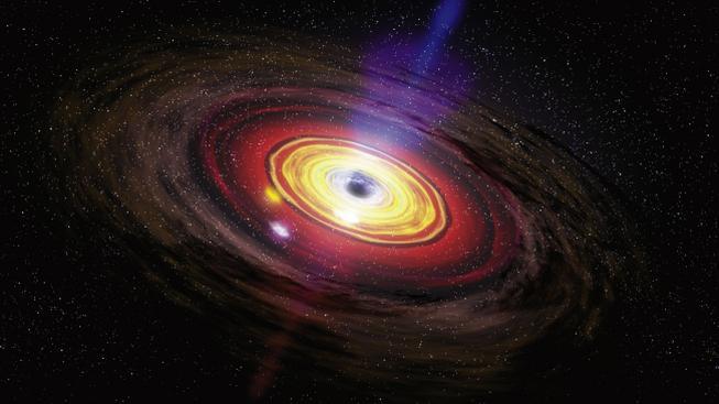 Ve středu Mléčné dráhy číhá nenasytná černá veledíra