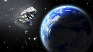 Asteroid mine Zem v bezpečné vzdálenosti, pro astronomy ale půjde o těsný průlet
