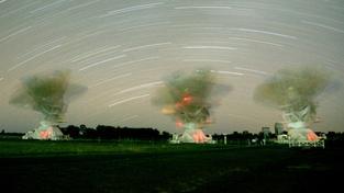Radioteleskopy v australském Narrabri