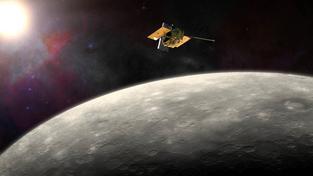 Sonda Messenger získala důležité údaje o Merkuru