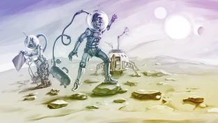 Život na Marsu by už relativně brzy mohl vystoupit z kategorie sci-fi a stát se realitou. Ilustrační snímek