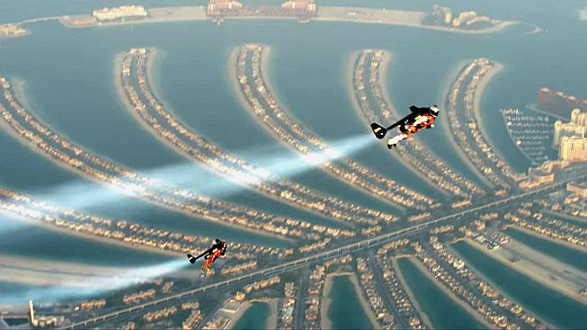 Technologická extravagance na zemi i ve vzduchu, to je Dubaj