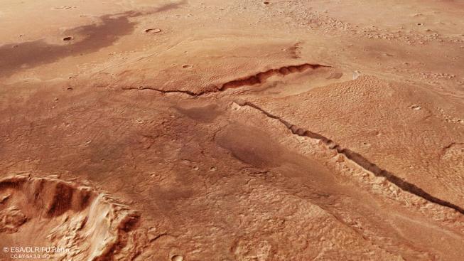 Snímky pořídila sonda pomocí Němci dodané kamery s vysokým rozlišením