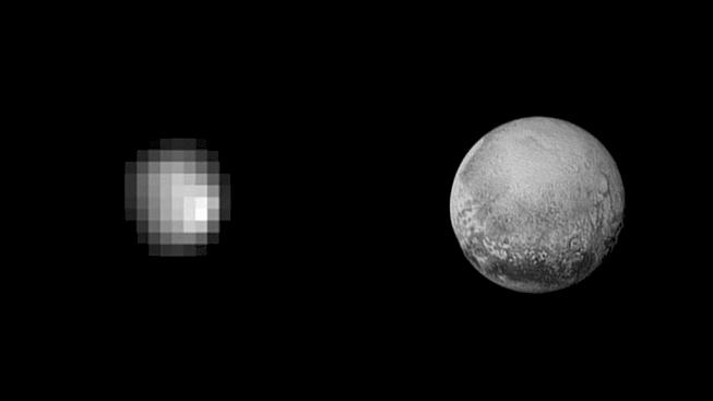 Jak jsme trpasličí planetu znali ještě nedávno a jak ji čerstvě vidí sonda New Horizons