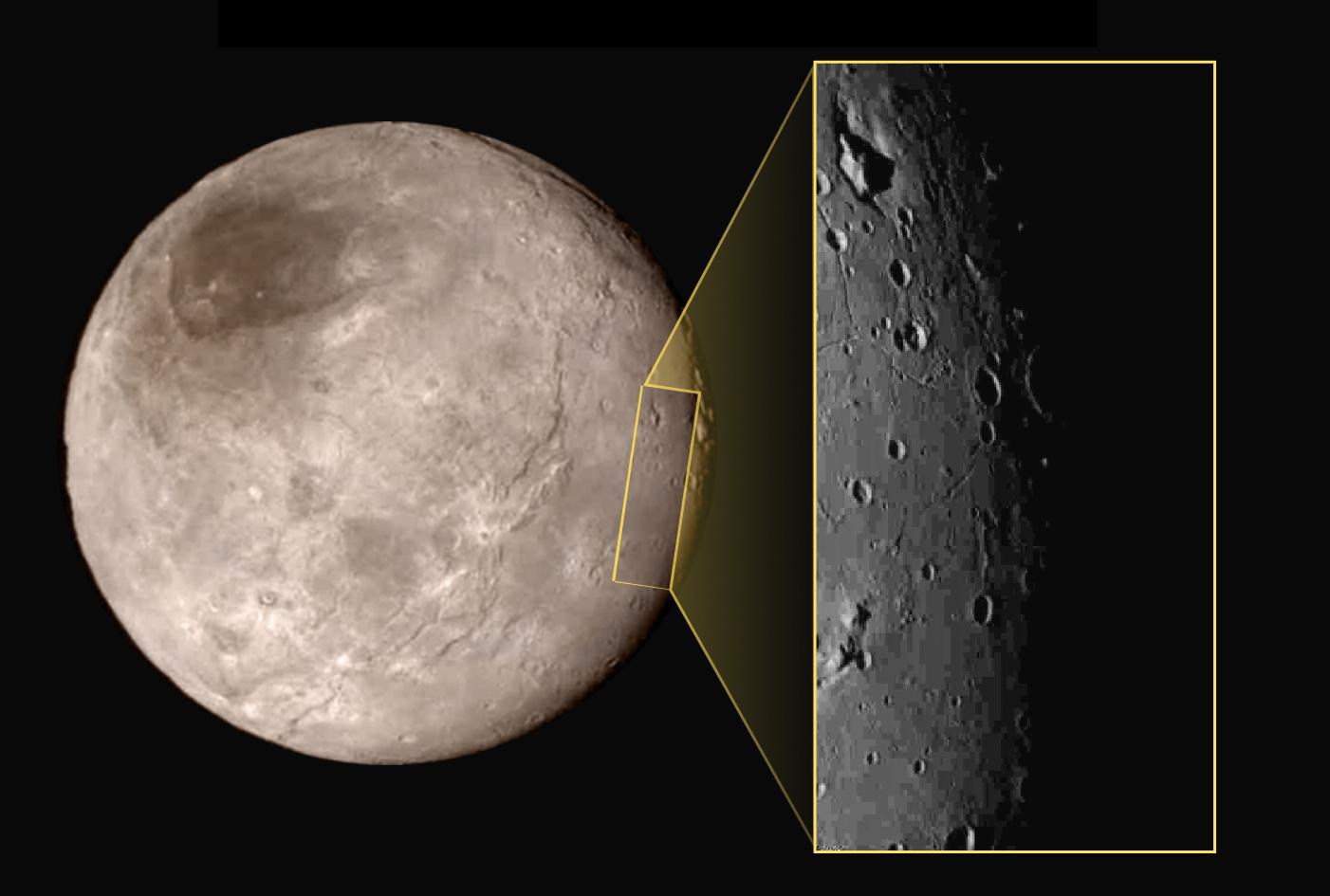 Snímky Pluta ze sondy New Horizons